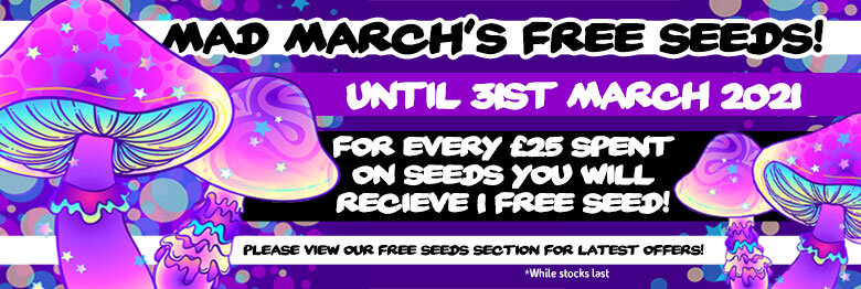 Free Seeds March 2021
