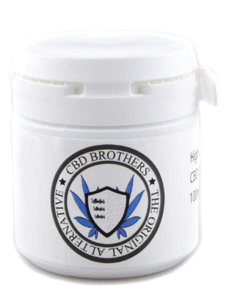 CBD Brothers - Blue Edition CBD Capsules 100mg - 250mg 25%