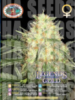 Big Buddha Seeds - Legends Gold Feminised Cannabis Seeds