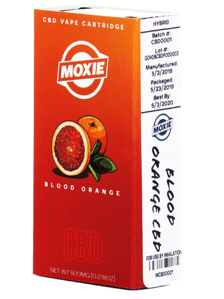 Moxie Dart CBD Vape Cartridge Pod - Blood Orange