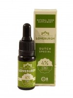 Loveburgh Dutch Special CBD Drops 4% with Olive Oil